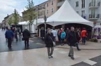 La foire-expo  a pris ses quartiers dans tout le cœur de ville.