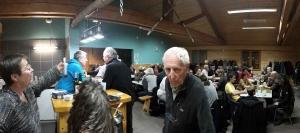 Queyrières : 70 participants à la soirée de Sarira au Chalet du Meygal