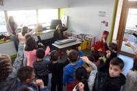 Riotord : les écoliers préparent un concert sur la solidarité à Dunières