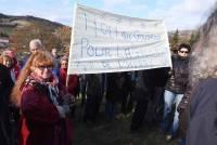 Rosières : entre 1 500 et 2 000 manifestants pour défendre la Galoche sans goudron