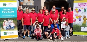 Saint-Julien-du-Pinet : plus de 370 randonneurs à la marche solidaire