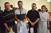 L'équipe qui a fini 2e était coachée par Aurélien Masse, chef du Restaurant de la Loire à Solignac-sur-Loire.