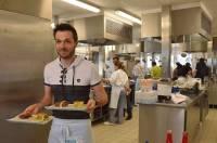 Le concours s'est déroulé dans les cuisines pédagogiques toutes neuves du CFA de Bains.