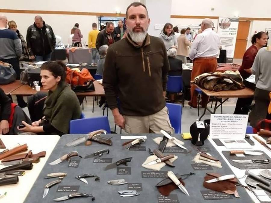 Vergezac : Benoit Maguin s'installe comme artisan d'art coutelier