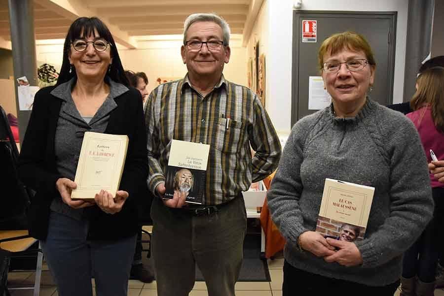 Les libraires avaient offert des livres pour récompenser les meilleurs.