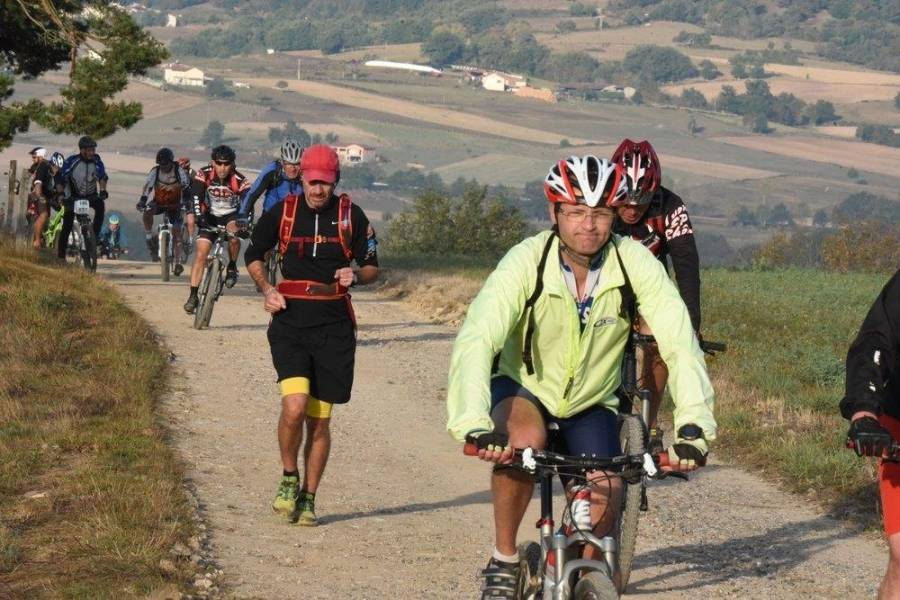 Monistrol-sur-Loire : record de vététistes explosé sur la Ronde monistrolienne