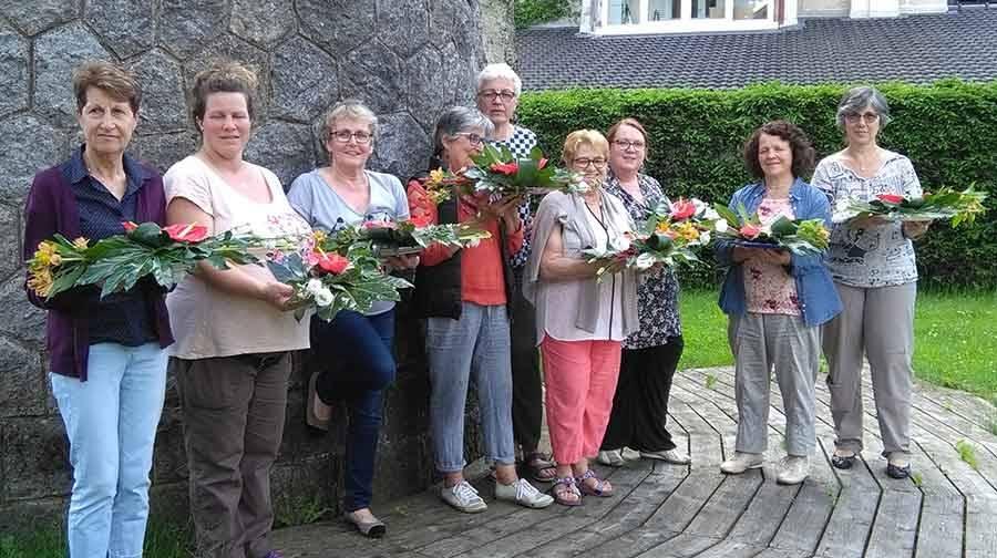 Tence : dernier cours d'art floral le 30 juin à la salle de la gare