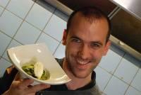 Salade de courgettes aux olives noires