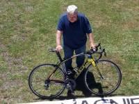 Chambon-sur-Lignon : des banderoles visibles depuis le ciel pour le Tour de France