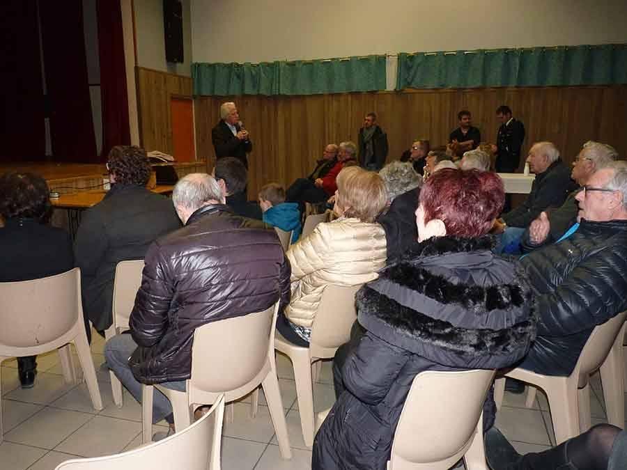 Laussonne : les voeux du maire Pierre Gentes à la population