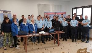 Vivre et Conduire à la rencontre des jeunes gendarmes de Haute-Loire
