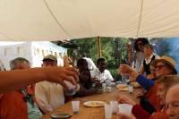 Yssingeaux : les résidents du centre hospitalier immergés dans les Fêtes du Roi de l'Oiseau