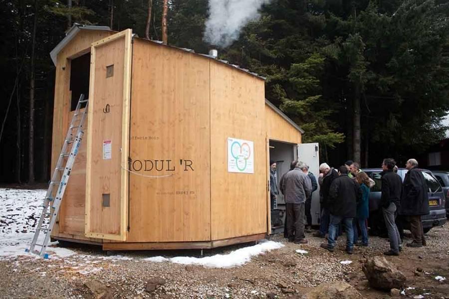 Tence : le centre de vacances Horizon 3000 chauffé au bois grâce à ERE43