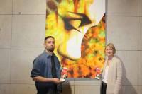 Philippe Caspar expose ses peintures à l'Hôtel du Département