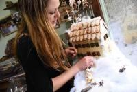 Le Chambon-sur-Lignon : elle crée une maisonnette en pâte sablée
