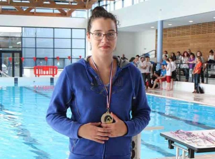 Manon Gimbert a remporté le combiné brasse.