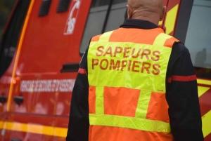 Saint-Ferréol-d'Auroure : perte de contrôle sur la RN88, la voiture finit dans la cour d'une entreprise