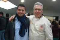 Deux éminents pâtissiers de Haute-Loire, Yann Sabot du Puy, ancien apprenti de Pascal Liotier d'Yssingeaux..