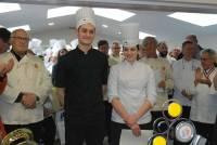 Les quatrièmes : Antoine Faure et Alice Bellion du CFA des Mouliniers de Saint-Etienne.