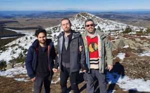 Karim Barigou, Julien Vedani et Stéphane Loisel
