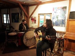 De la chanson italienne avec Aronne Dell'Oro à l'Arbre vagabond le 15 septembre