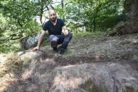 Monistrol-sur-Loire : il pense avoir trouvé les ruines du château vieux