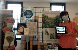 Espaly-Saint-Marcel : des arbres en exposition à la médiathèque