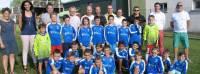 Montfaucon-en-Velay : de nouveaux maillots pour les jeunes footballeurs
