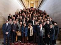 96 élus de Haute-Loire accueillis au Sénat