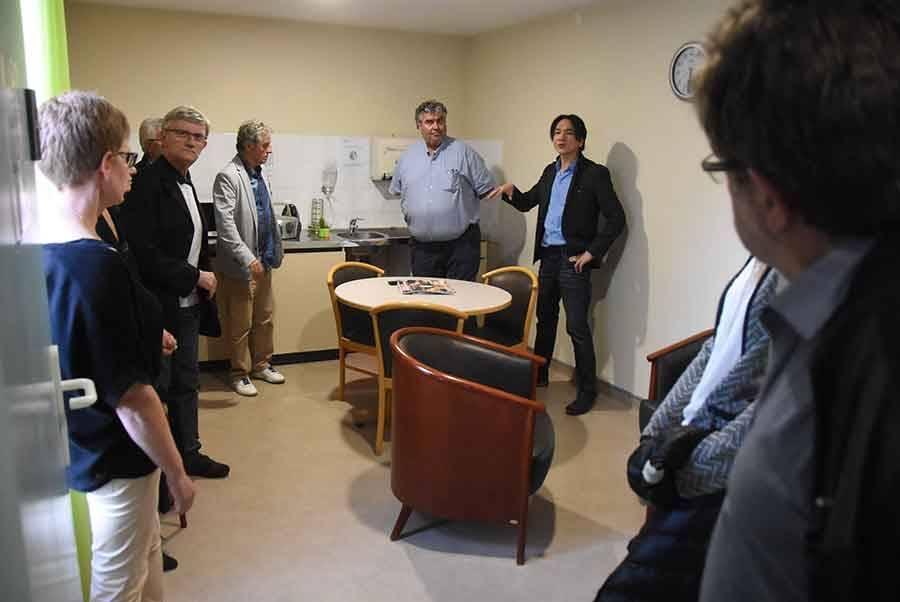 Yssingeaux : des aménagements réalisés au service des soins palliatifs