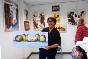 Le Chambon-sur-Lignon : des couleurs d'ici et d'ailleurs avec les peintures d'Elyane Exbrayat