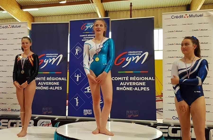 Capucine Gazet est championne régionale