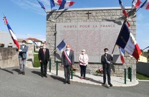Saint-Just-Malmont : une commémoration du 8 mai en format très restreint