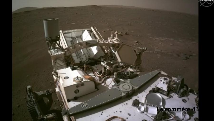 Chambon-sur-Lignon : il commente les premières images filmées sur Mars (vidéo) - La Commère 43