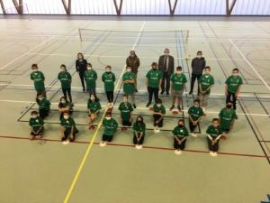 Retournac : de nouvelles tenues pour les sportifs du collège Boris-Vian