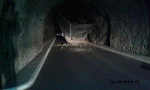 Le Monteil : la réouverture du tunnel décalée de quelques jours