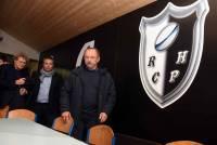 Tence : Jacques Brunel et Jo Maso à la rencontre des jeunes rugbymen