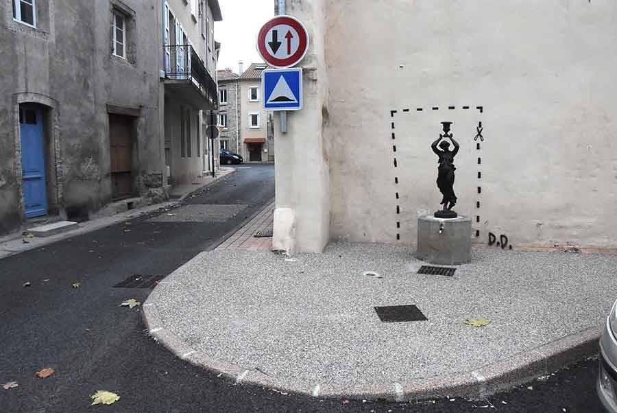 Retournac : street art inspiré ou graffiti indésirable ?