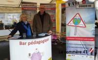 Puy-en-Velay : l'association Vivre et Conduire sur le boulevard du Breuil vendredi soir