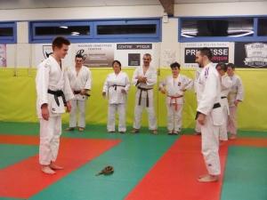 Une nouvelle ceinture noire au Judo Club de Brives-Charensac