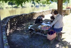 """Chamalières-sur-Loire : un cadre champêtre pour le premier """"Au Tempo des Crayons"""""""