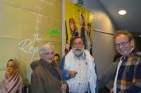 Jean-Yves Béraud au centre du Collectif Palestine 43.