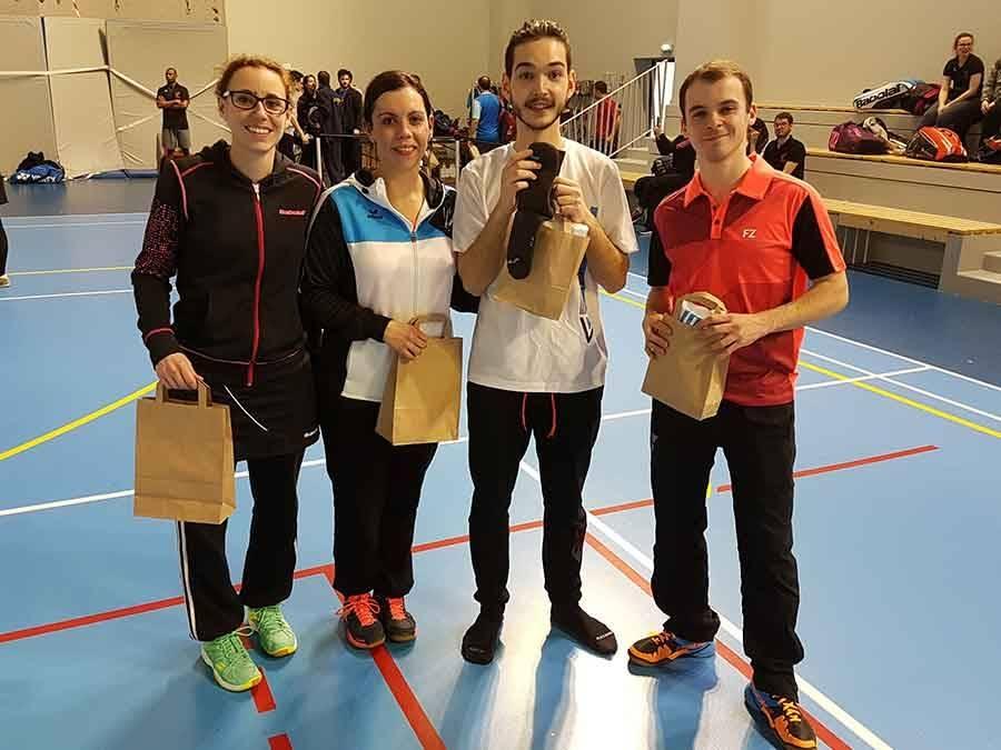 Badminton : l'Emblavez ramène un nouveau titre du Puy-de-Dôme