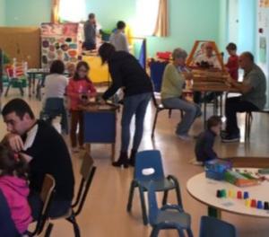 Dunières : un temps de jeu pour les familles