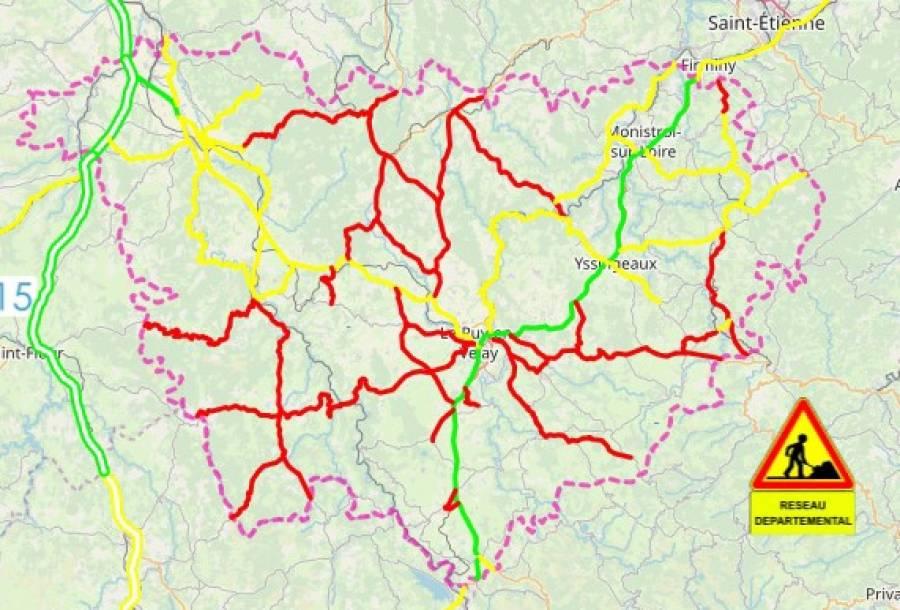Conditions de circulation : délicat mais possible jeudi matin
