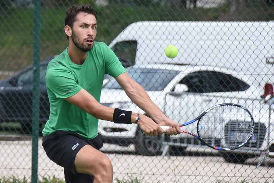 Clément Raymond s'est qualifié lundi matin pour les 32e de finale