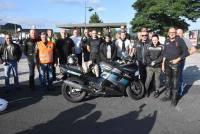 Vingt cinq motards roulent cool dans l'Yssingelais