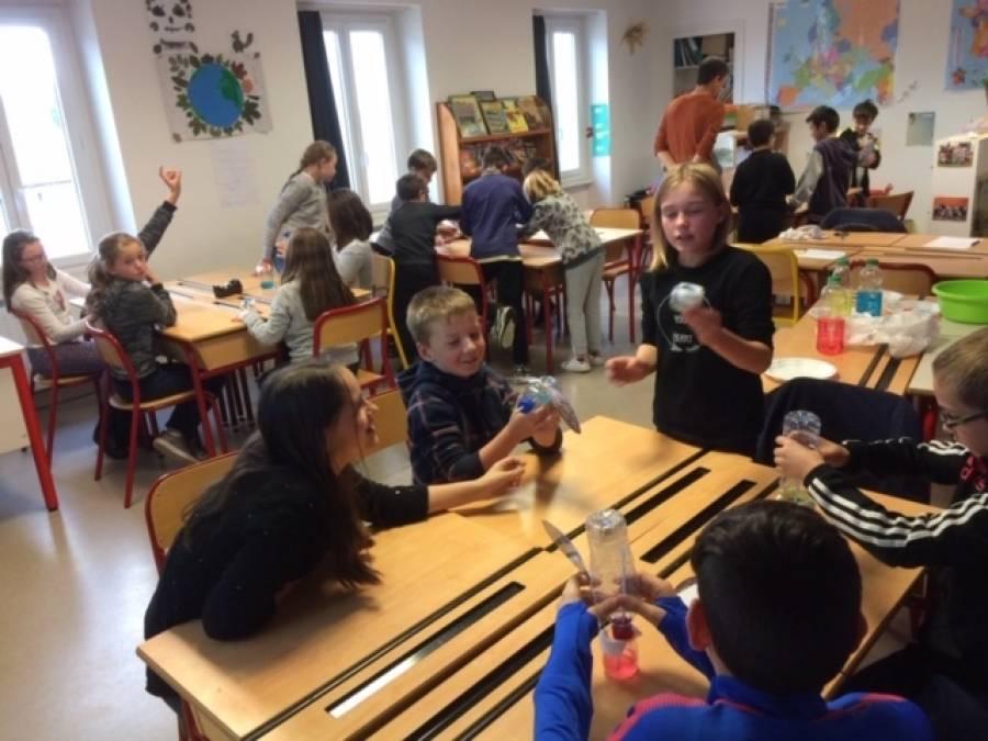 Tence : le écoliers de Saint-Martin à la découverte de la biodiversité
