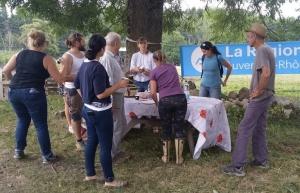 Mazet-Saint-Voy : l'ACAMA fait découvrir les animaux de sa ferme