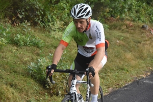 Grimpée Beauzacoise : Nathan Cornillon tout en haut